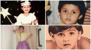Rashami Desai childhood pic