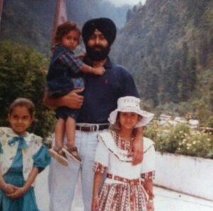 Childhood pic of Rohanpreet  singh