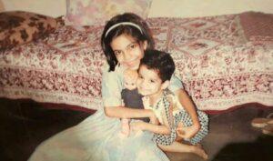 Mithila Palkar childhood pic