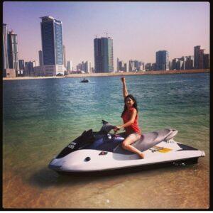 Disha parmar in Dubai