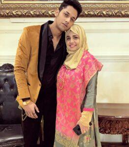 Baseer Ali mother Afshan Ali