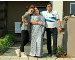 Tina Datta mother Madhu Datta