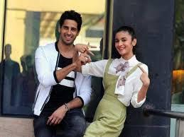 Sidharth with Alia Bhatt