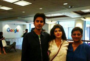 Sanjana Sanghi  brother