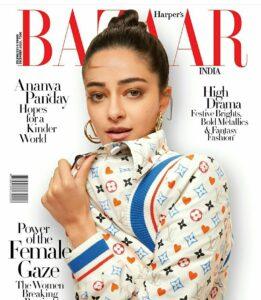 Ananya Pandey Bazaar India magazine