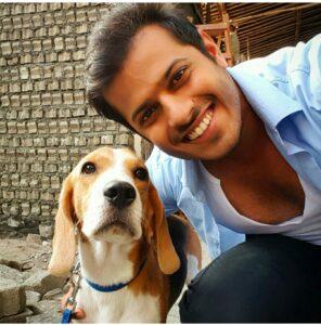 Neil Bhatt pet dog