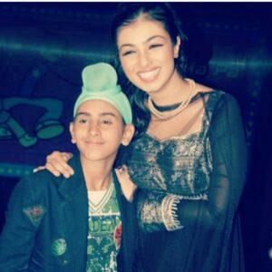Rohanpreet Singh with actress Ayesha Takia