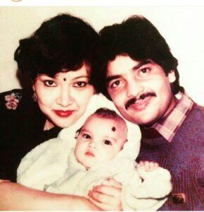 Childhood pic Aditya Narayan