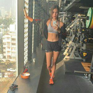 Rhea Chakraborty fitness workout