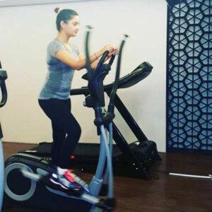 rashami desai workout