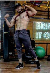 Vyomesh Koul fitness