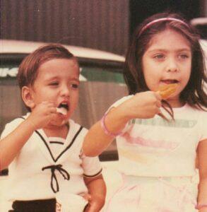 Nakuul Mehta childhood pic