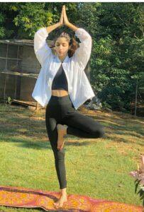 Mawra Hocane workout