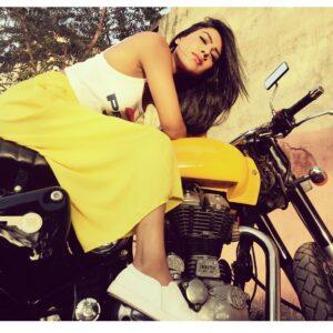 Nia Sharma bike collection