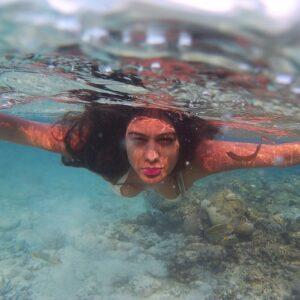 Naagin actress swimming