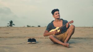Guitar pose