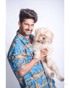 Ravi Dubey pet