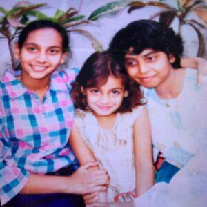 Dia Mirza Childhood pic