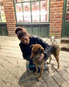 Tara Sutaria pet dog