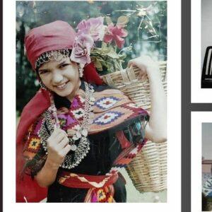 Manika Sheokand childhood pic