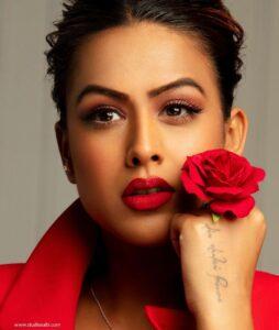 Nia Sharma tattoo