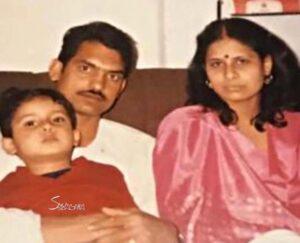 Ravi Dubey Childhood pic