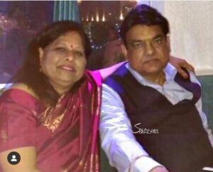 Ravi Dubey parents father