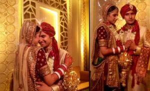 Wedding Pic of Sargun Mehta