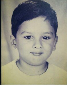 Vyomesh Koul childhood pic