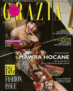 Grazia magazine sanam teri kasam actress