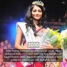 pooja hegde miss universe 2010