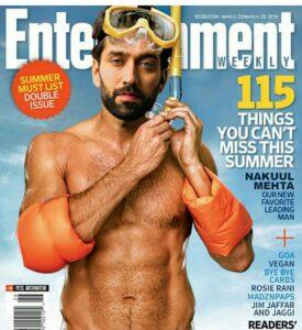 Nakuul Mehta magazine
