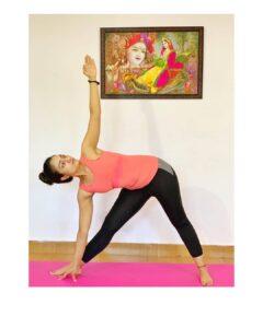 Vaishnavi Gowda workout Yoga