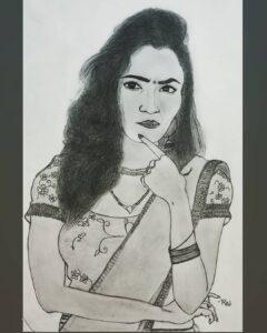 Vaishnavi Gowda sketch