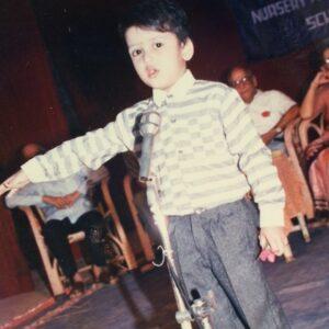 Aravind KP childhood photos image