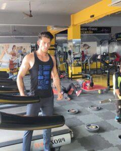 Dhruv Malik workout gym