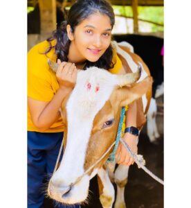 Divya Uruduga pet cow