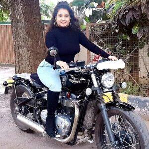 Shubha Poonja assets bike collection