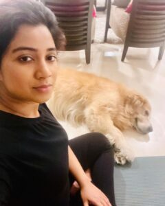 Shreya Ghoshal pet dog
