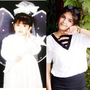 Ashi Khanna childhood pic