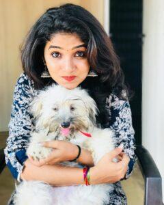 Divya Uruduga pet dog