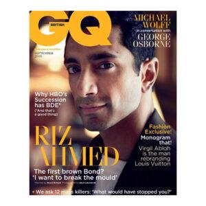 Riz Ahmed magazines