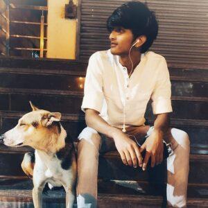 Vishwanath Haveri pet dog