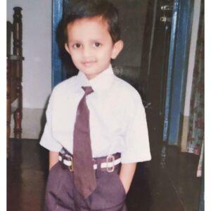 Vishwanath Haveri childhood pic