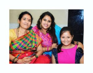 Geetha Bharathi mother sister family