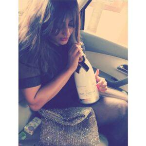 Nidhi Subbaiah alcohol