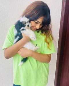 Dhanushree pet dog