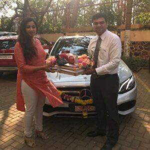 Shreya Ghoshal Car Collection