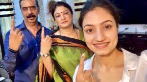 Vaishnavi Gowda parents
