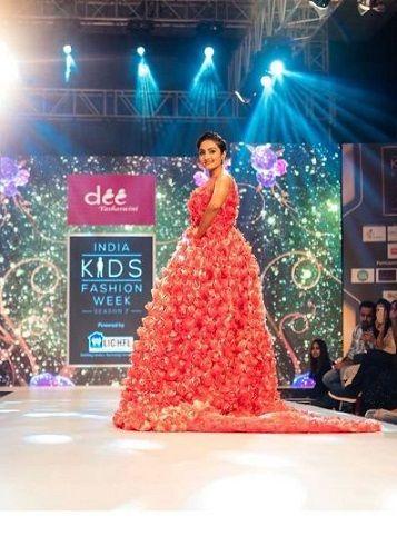 Vaishnavi Gowda in fashion show